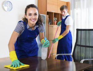 Услуги клининговой компании по уборке офисов