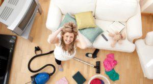 Беспорядок в доме - причина плохого настроения