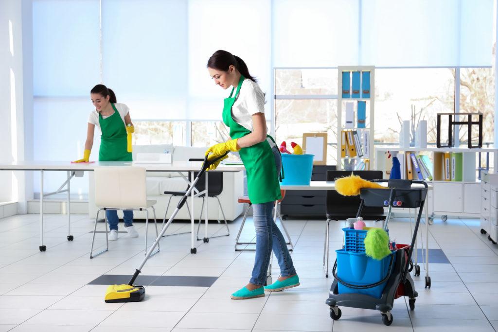 Необходимый инвентарь для генеральной уборки офиса