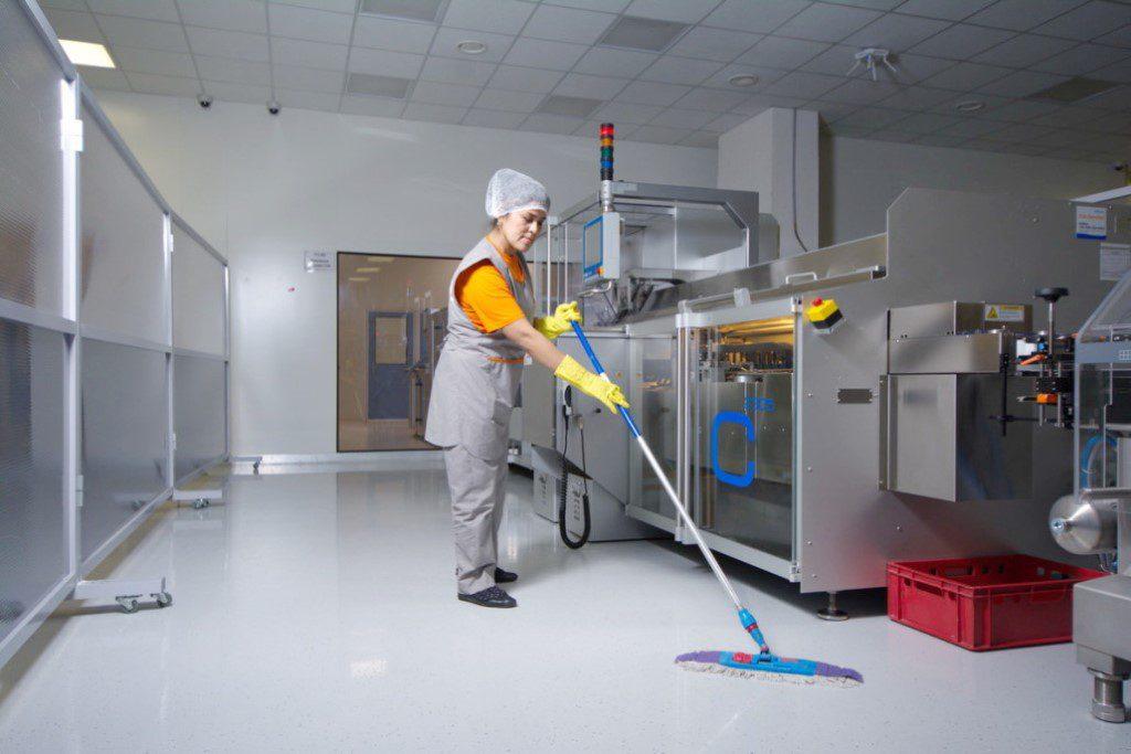 Ручная уборка производственных помещений