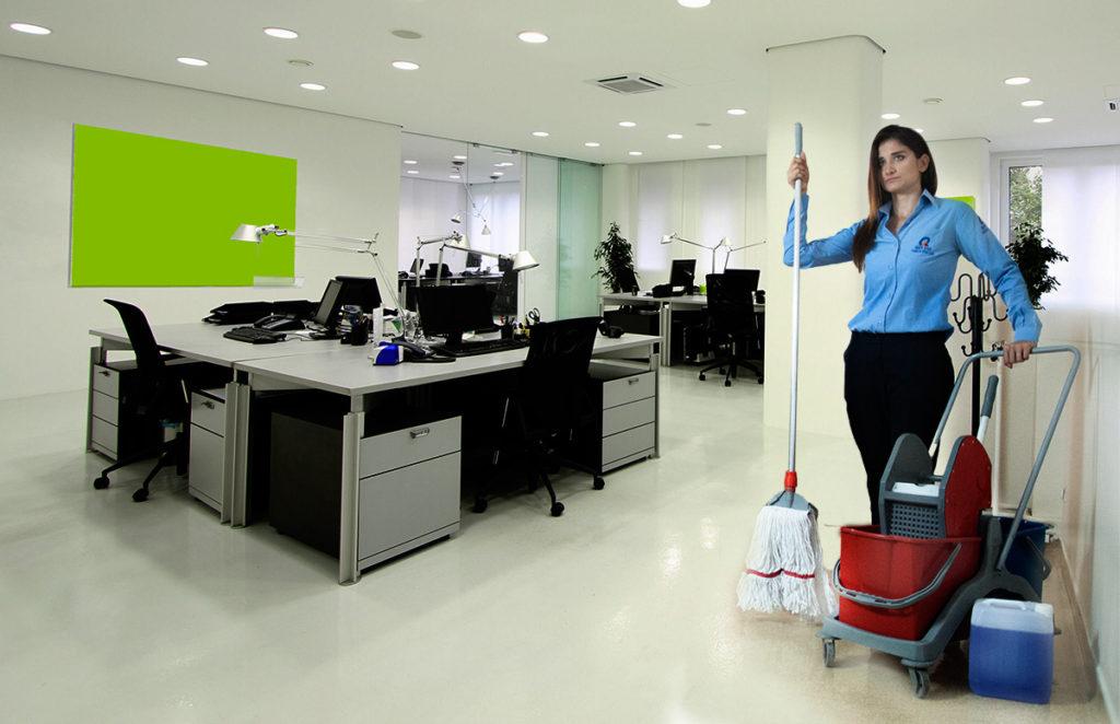 Уборка офиса клининговой компанией - это выгодно