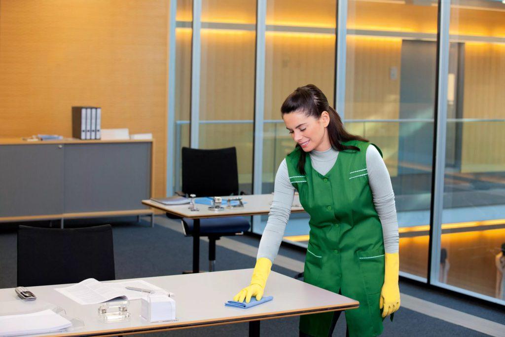 Проведение генеральной уборки включает влажную и сухую чистку