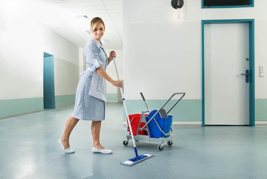 Уборка служебных помещений в школах