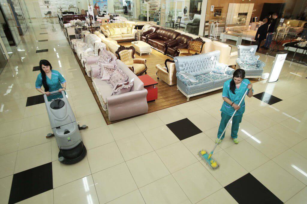 Ежедневная уборка торговых помещений