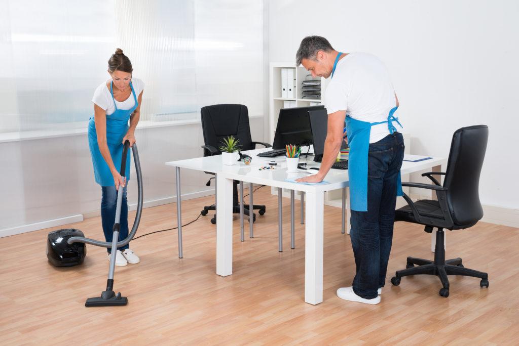 Оказание услуг по уборке служебных помещений