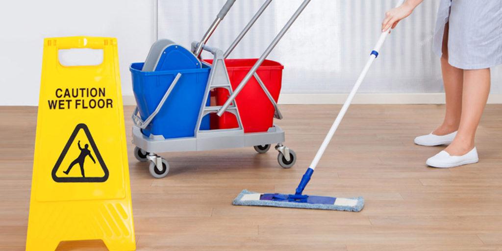 Санитарная уборка бытовых помещений
