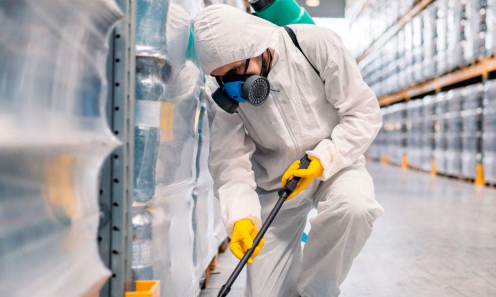 Санитарная уборка производственных помещений